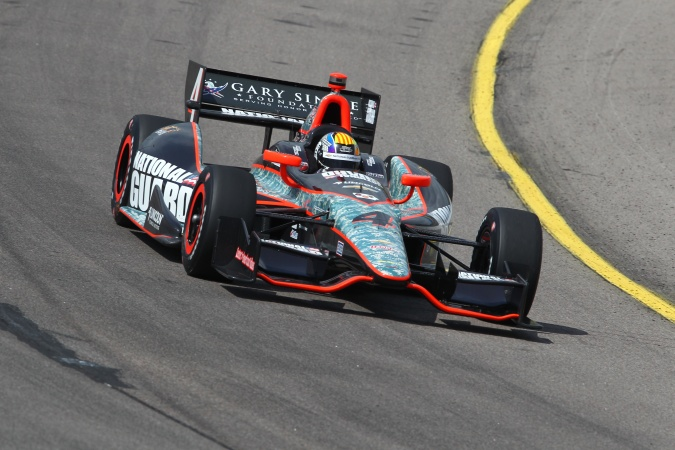 Bild: Oriol Servia - Panther Racing - Dallara DW12 - Chevrolet