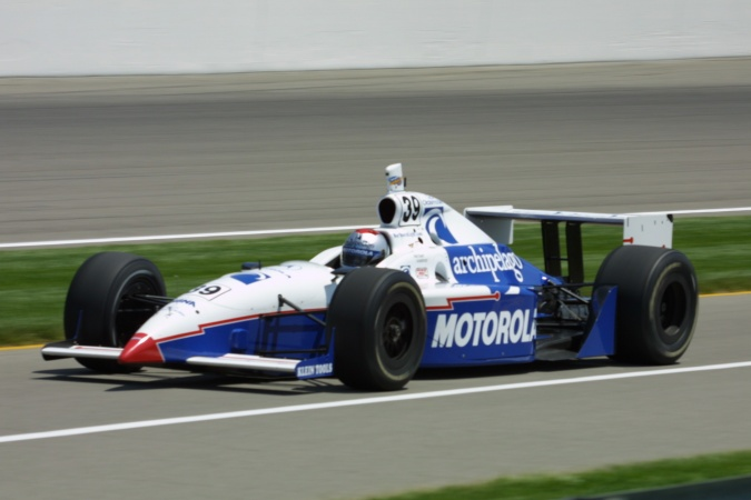 Bild: Michael Andretti - Panther Racing - Dallara IR-01 - Oldsmobile