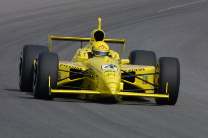 Bild: Sam Hornish - Panther Racing - Dallara IR-01 - Oldsmobile
