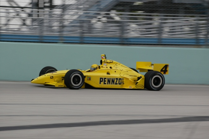Bild: Sam Hornish - Panther Racing - Dallara IR-02 - Chevrolet
