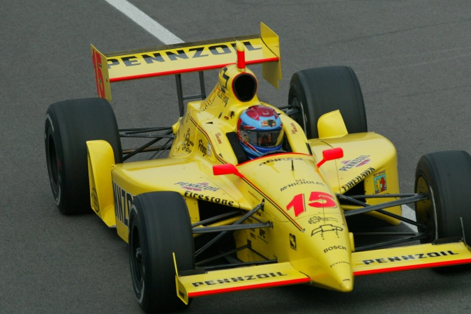 Bild: Dan Wheldon - Panther Racing - Dallara IR-02 - Chevrolet