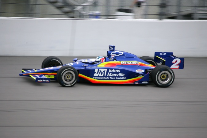 Bild: Townsend Bell - Panther Racing - Dallara IR-03 - Chevrolet