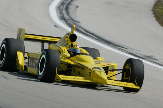 Bild: Sam Hornish - Panther Racing - Dallara IR-03 - Chevrolet
