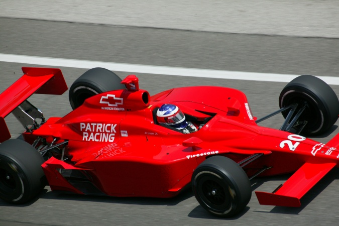 Bild: Al, jr. Unser - Patrick Racing - Dallara IR-03 - Chevrolet