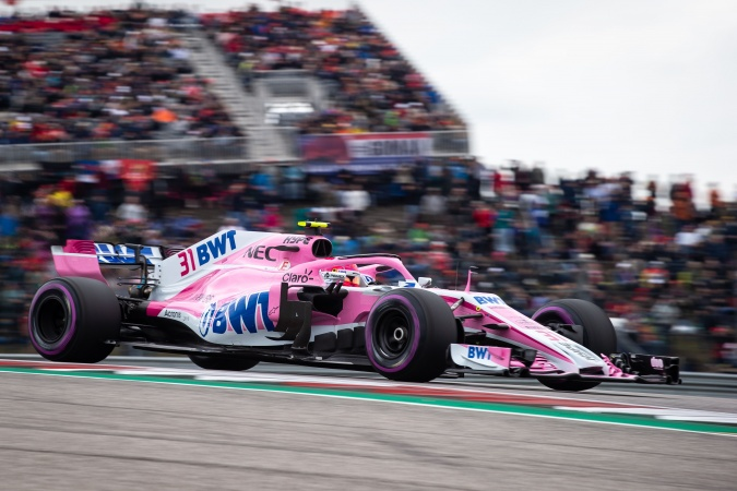 Bild: Esteban Ocon - Racing Point - Force India VJM11 - Mercedes
