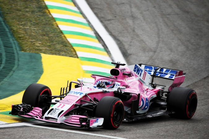 Bild: Sergio Perez Mendoza - Racing Point - Force India VJM11 - Mercedes