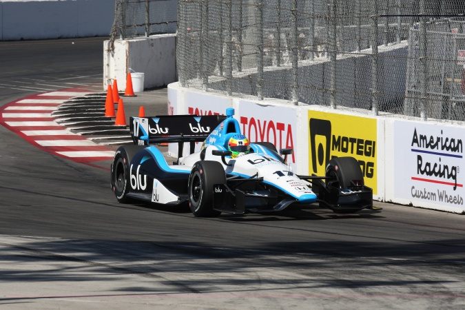 Bild: Mike Conway - Rahal Letterman Lanigan Racing - Dallara DW12 - Honda