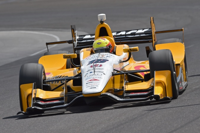 Bild: Spencer Pigot - Rahal Letterman Lanigan Racing - Dallara DW12 - Honda