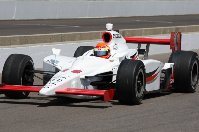 Bild: Alex Lloyd - Rahal Letterman Racing - Dallara IR-05 - Honda