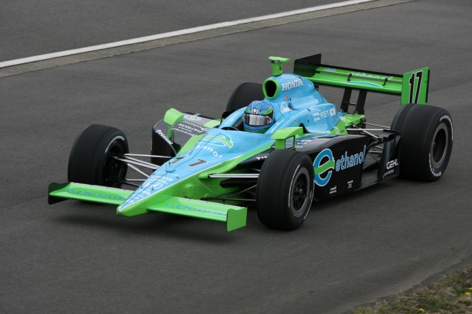 Bild: Jeff Simmons - Rahal Letterman Racing - Dallara IR-05 - Honda