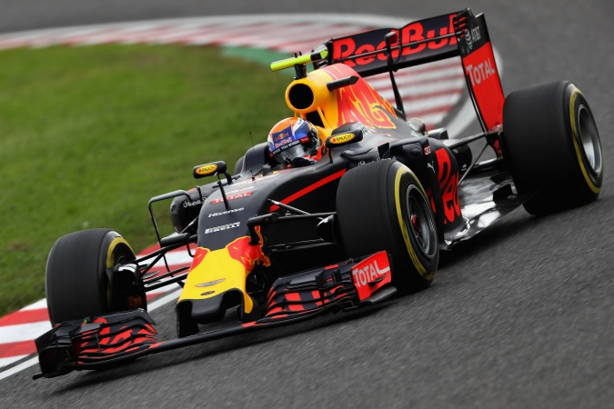 Bild: Max Verstappen - Red Bull Racing - Red Bull RB12 - TAG