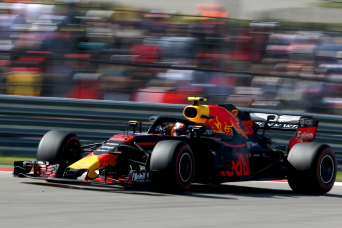 Bild: Max Verstappen - Red Bull Racing - Red Bull RB14 - TAG