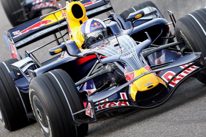 Bild: David Coulthard - Red Bull Racing - Red Bull RB4 - Renault