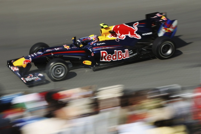 Bild: Mark Webber - Red Bull Racing - Red Bull RB6 - Renault