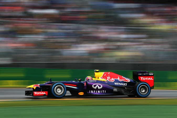 Bild: Mark Webber - Red Bull Racing - Red Bull RB9 - Renault