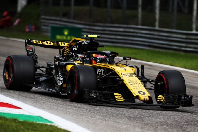 Bild: Carlos jr. Sainz - Renault F1 Team - Renault RS18