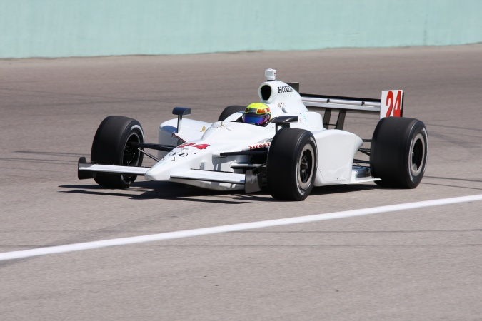 Bild: Jay Howard - Roth Racing - Dallara IR-05 - Honda