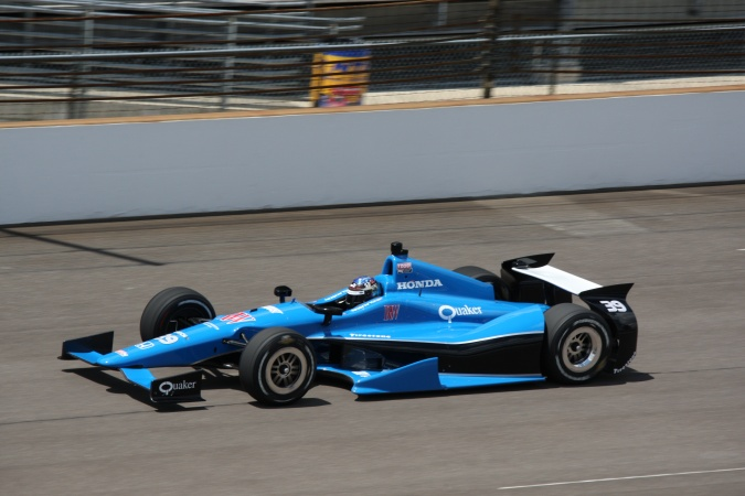 Bild: Bryan Clauson - Sarah Fisher Racing - Dallara DW12 - Honda