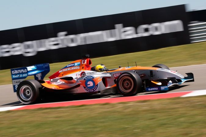 Bild: Robert Doornbos - SF Team Netherlands (AtechReid GP) - Panoz DP09B - Menard