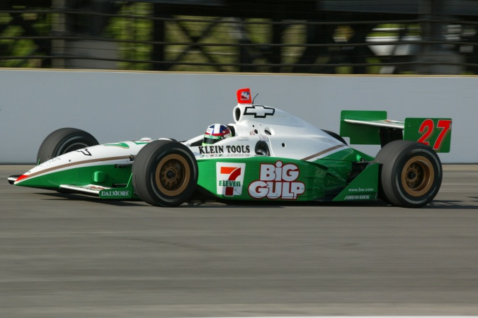 Bild: Dario Franchitti - Team Green - Dallara IR-02 - Chevrolet