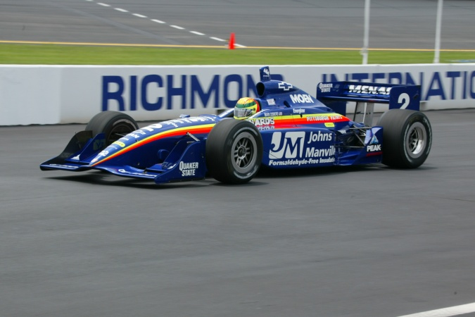 Bild: Mark Dismore - Team Menard - Dallara IR-02 - Chevrolet