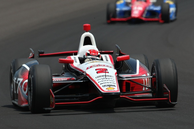 Bild: Ryan Briscoe - Team Penske - Dallara DW12 - Chevrolet