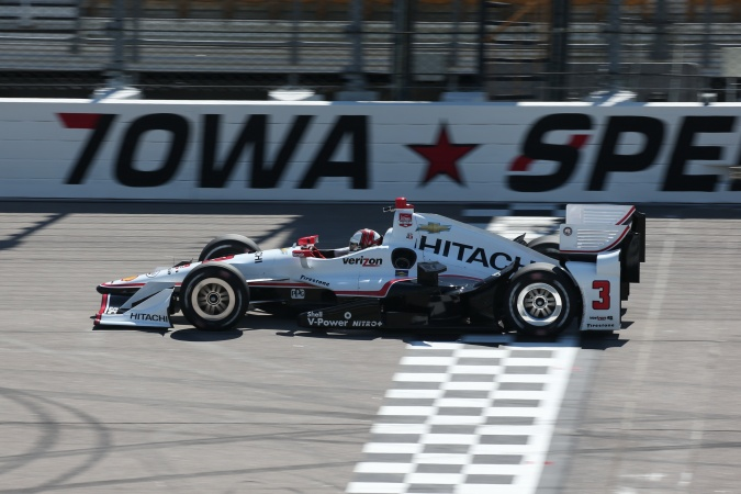 Bild: Helio Castroneves - Team Penske - Dallara DW12 - Chevrolet