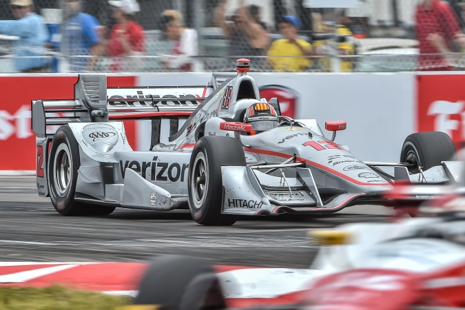 Bild: Oriol Servia - Team Penske - Dallara DW12 - Chevrolet
