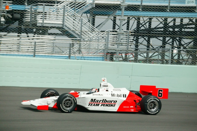 Bild: Sam Hornish - Team Penske - Dallara IR-03 - Toyota