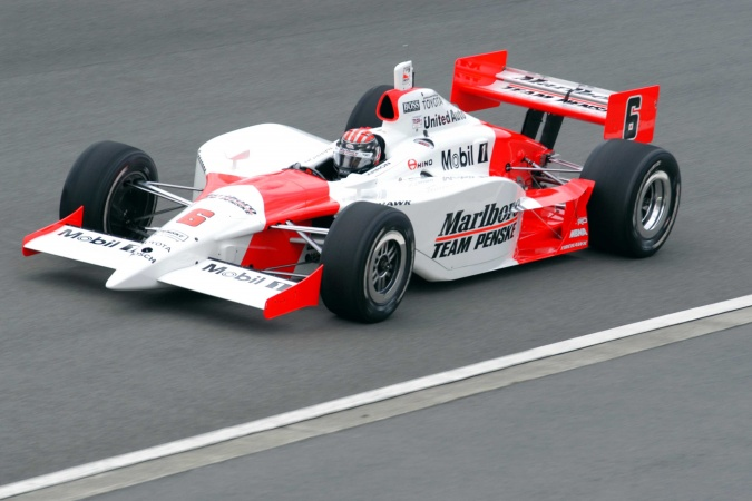 Bild: Alex Barron - Team Penske - Panoz G-Force GF09 - Toyota