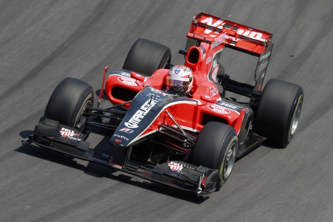 Bild: Timo Glock - Virgin Racing - Virgin VR-01 - Cosworth
