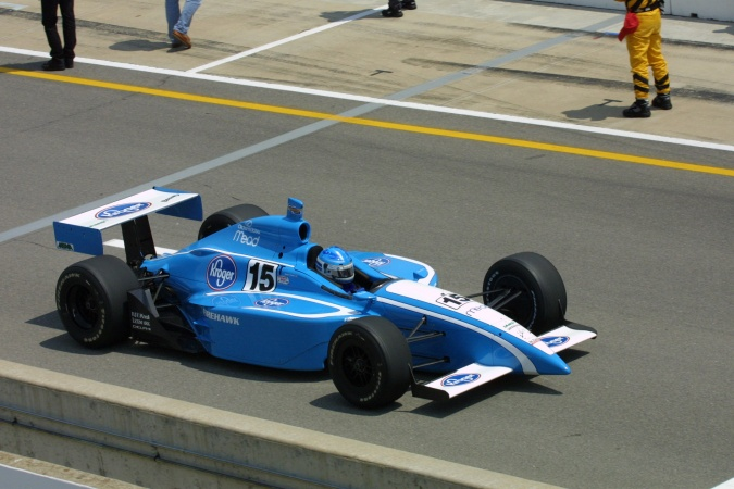 Bild: Sarah Fisher - Walker Racing - Dallara IR-01 - Oldsmobile