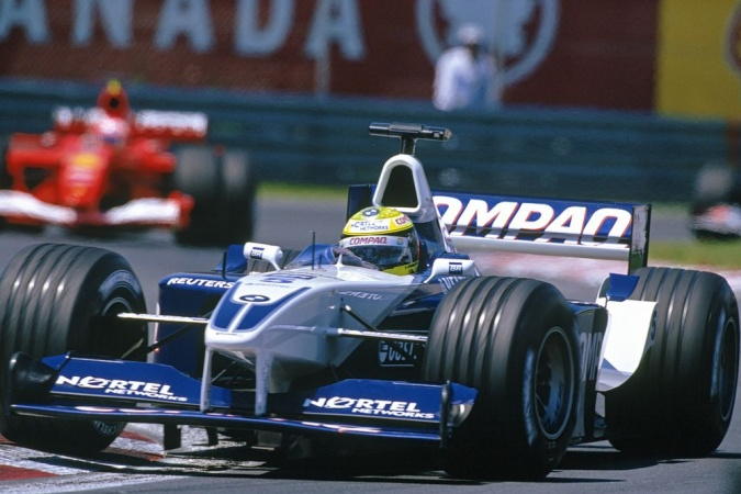 Bild: Ralf Schumacher - Williams - Williams FW23 - BMW