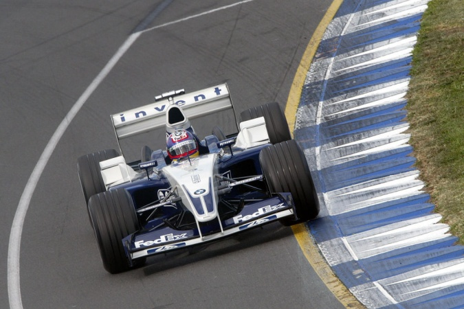 Bild: Juan Pablo Montoya - Williams - Williams FW25 - BMW