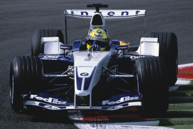 Bild: Ralf Schumacher - Williams - Williams FW25 - BMW