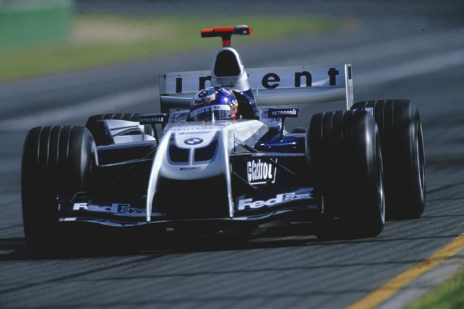 Bild: Juan Pablo Montoya - Williams - Williams FW26 - BMW