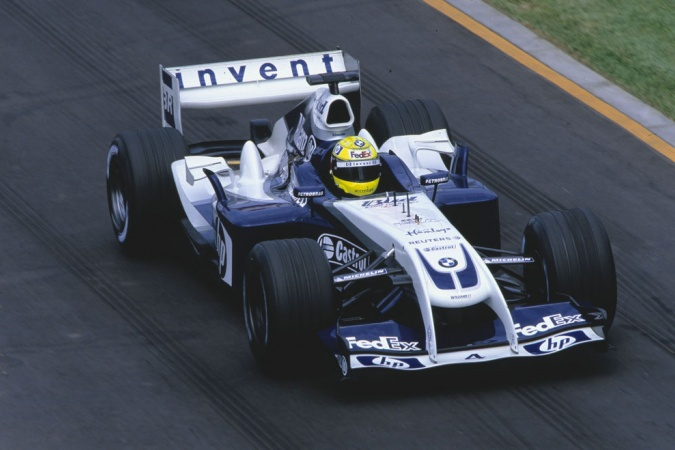 Bild: Ralf Schumacher - Williams - Williams FW26 - BMW