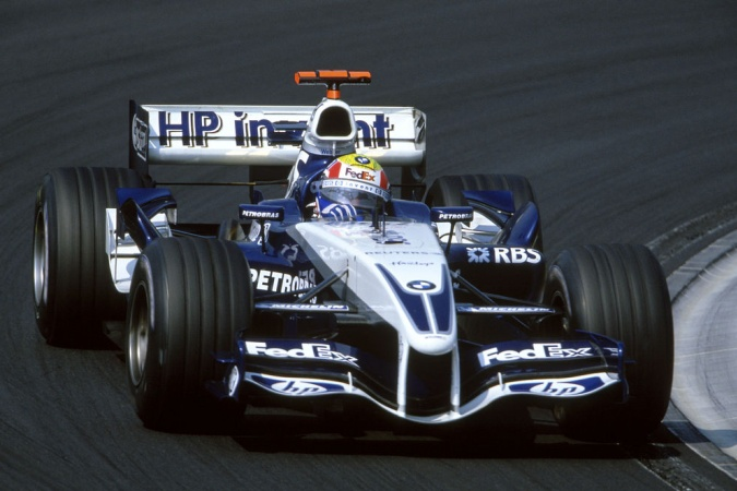 Bild: Mark Webber - Williams - Williams FW27 MKII - BMW
