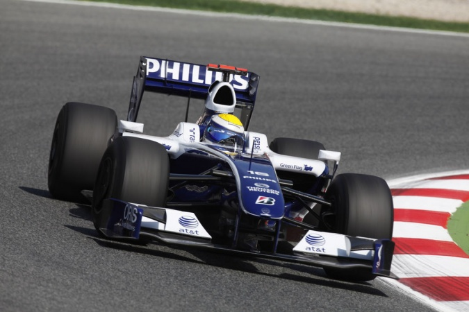Bild: Nico Rosberg - Williams - Williams FW31 - Toyota