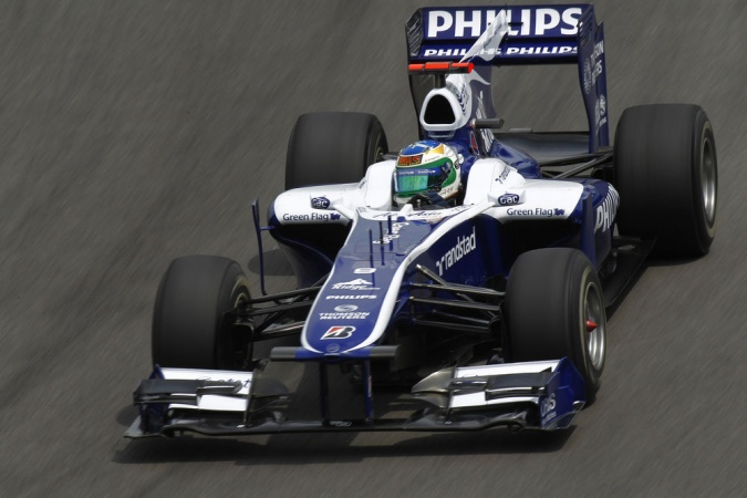 Bild: Rubens Barrichello - Williams - Williams FW32 - Cosworth