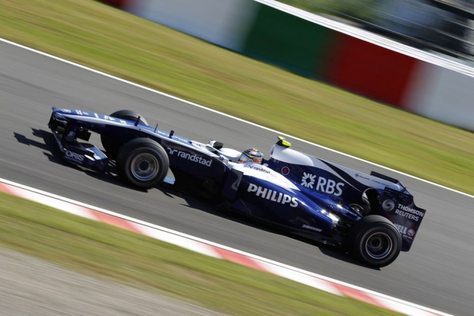 Bild: Nicolas Hülkenberg - Williams - Williams FW32 - Cosworth