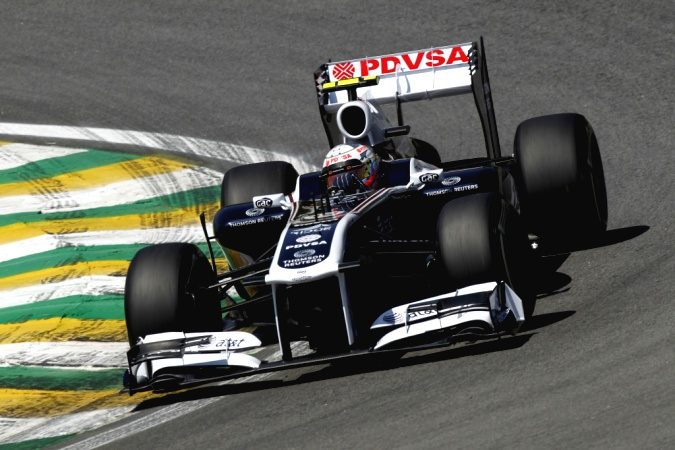Bild: Pastor Maldonado - Williams - Williams FW33 - Cosworth