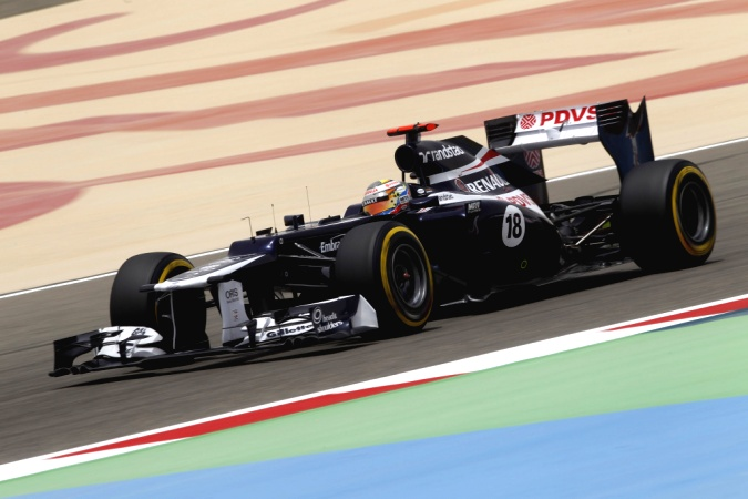 Bild: Pastor Maldonado - Williams - Williams FW34 - Renault
