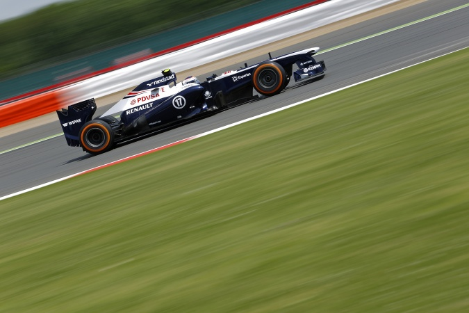 Bild: Valtteri Bottas - Williams - Williams FW35 - Renault