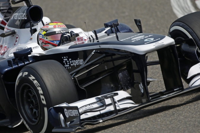 Bild: Pastor Maldonado - Williams - Williams FW35 - Renault