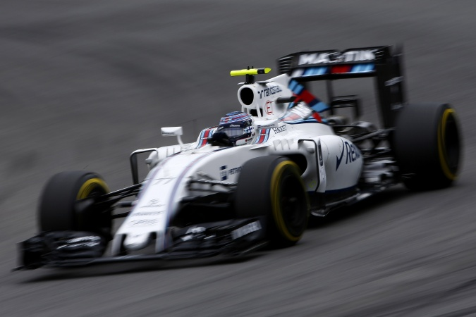 Bild: Valtteri Bottas - Williams - Williams FW38 - Mercedes