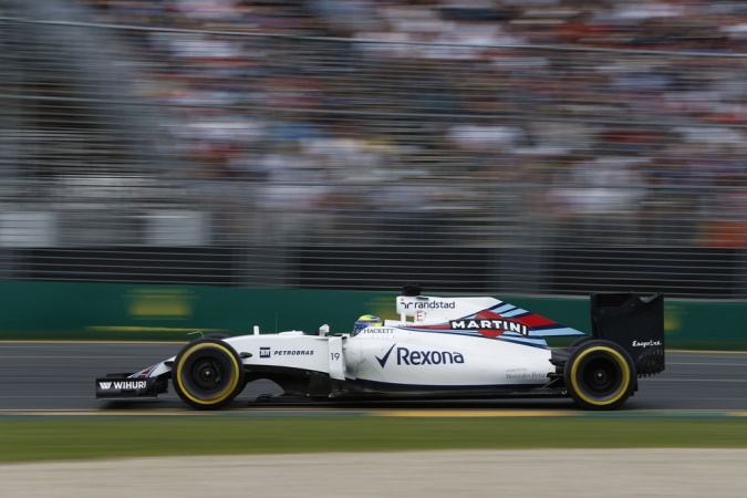 Bild: Felipe Massa - Williams - Williams FW38 - Mercedes