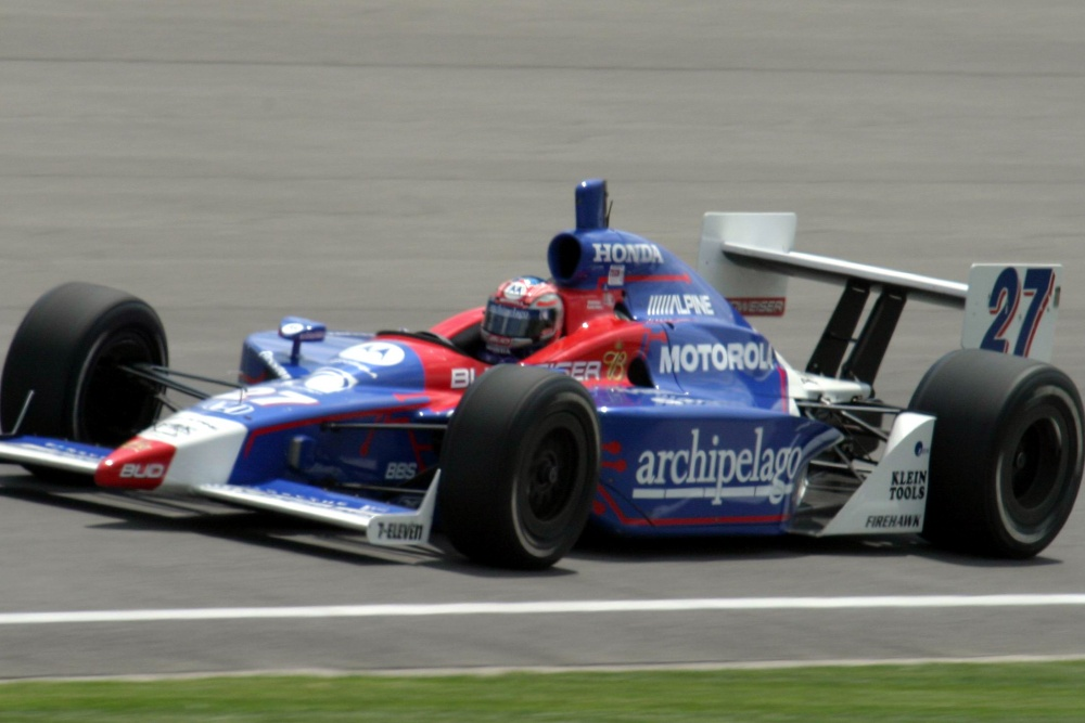 Robby Gordon - Andretti Green Racing - Dallara IR-03 - Honda