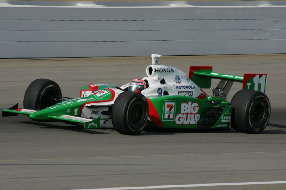 Tony Kanaan - Andretti Green Racing - Dallara IR-03 - Honda