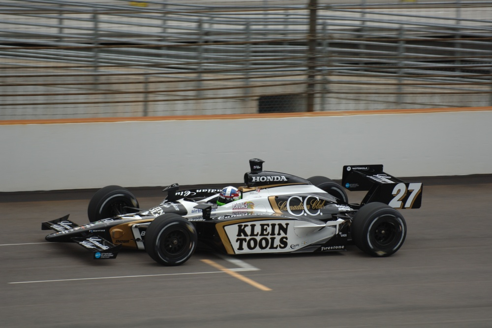 Dario Franchitti - Andretti Green Racing - Dallara IR-05 - Honda